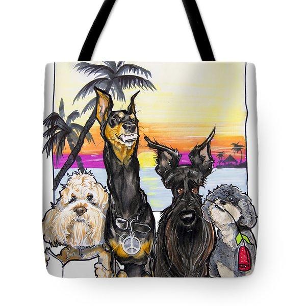 Dog Island Getaway Tote Bag