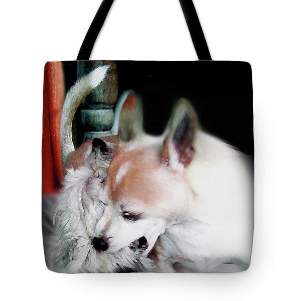 Dog Love Art 3 Tote Bag