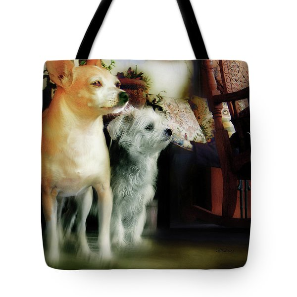 The Real Chiqui And Heichel Tote Bag