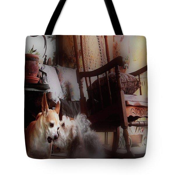 Dog Love Art  Tote Bag