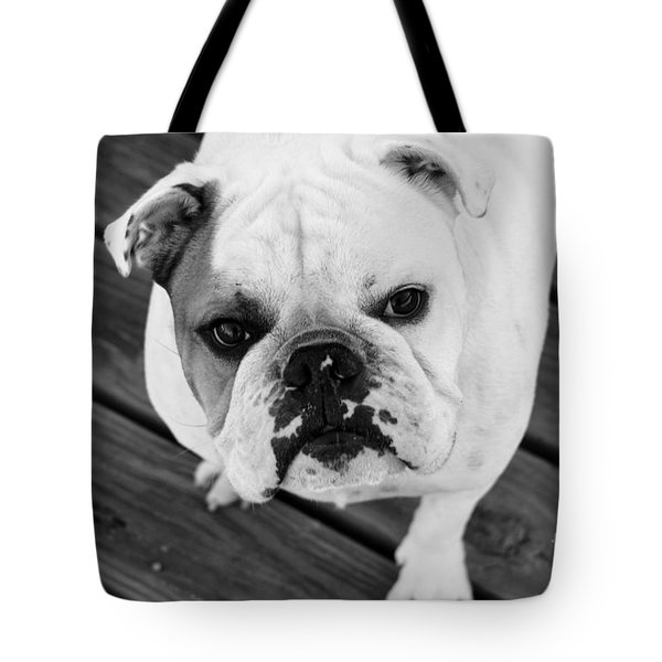 Dog - Monochrome 6 Tote Bag