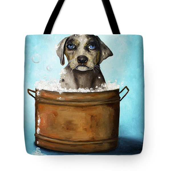 Dog N Suds Tote Bag