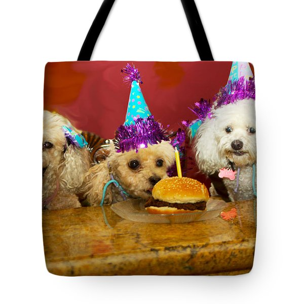Dog Party Tote Bag
