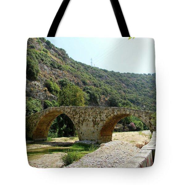 Dog River Tote Bag