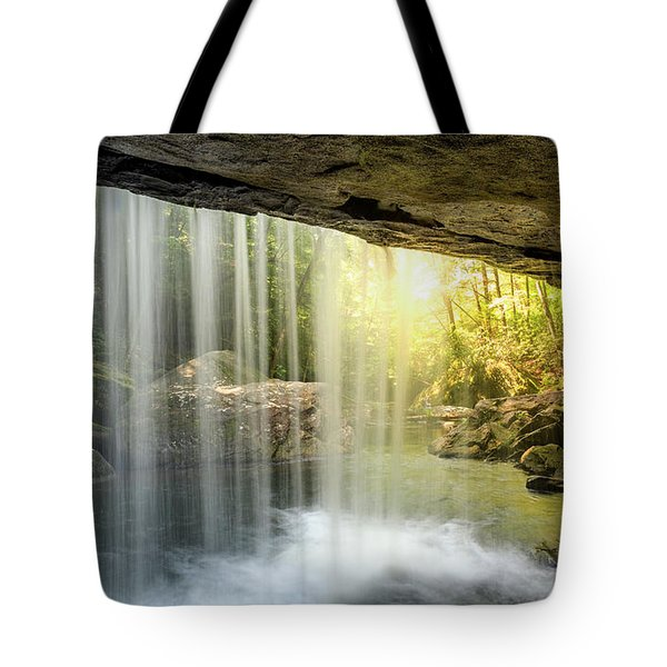 Dog Slaughter Falls Tote Bag