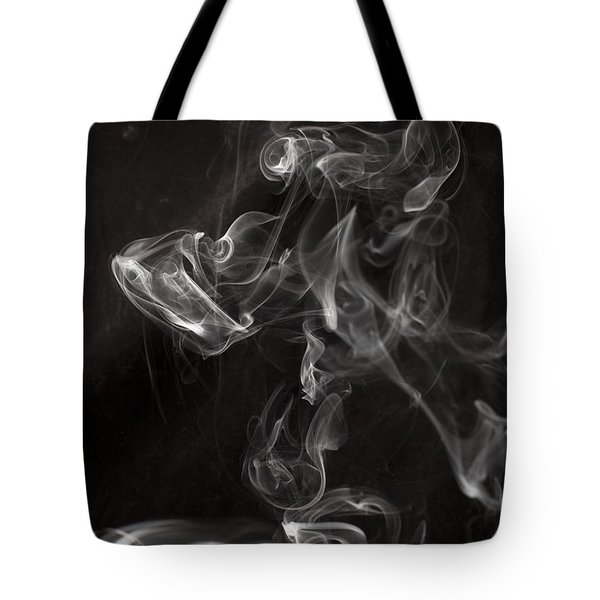 Dog Smoke Tote Bag by Garry Gay