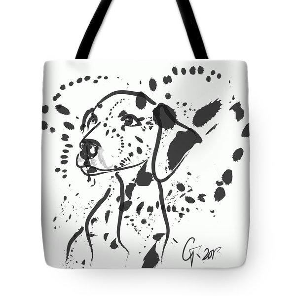 Dog Spot Tote Bag