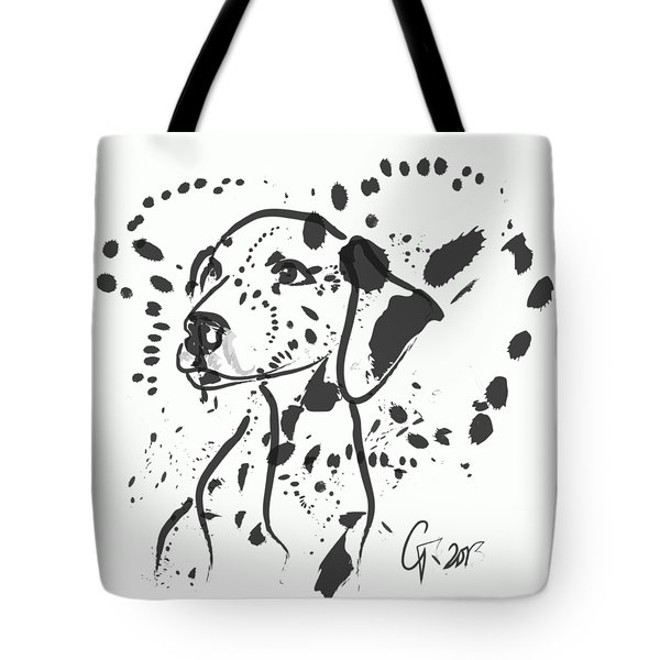 Dog Spot Tote Bag