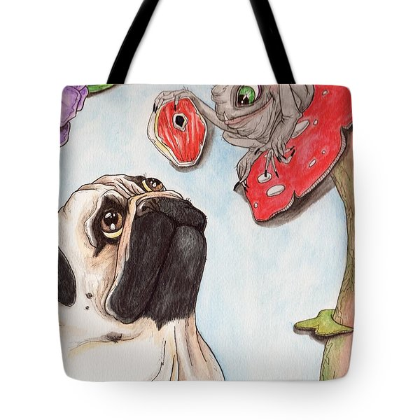 Dog Treat Tote Bag