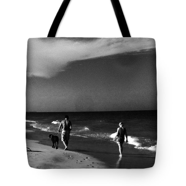 Dog Walk Tote Bag by WaLdEmAr BoRrErO