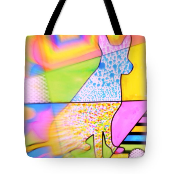 Dog Tote Bag by Wbk