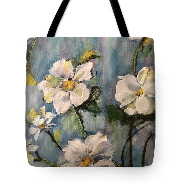Dog Wood Tote Bag by Sharon Schultz