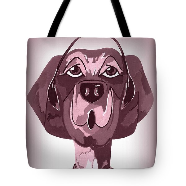 Doggie Singing The Blues Tote Bag by Kathleen Sartoris