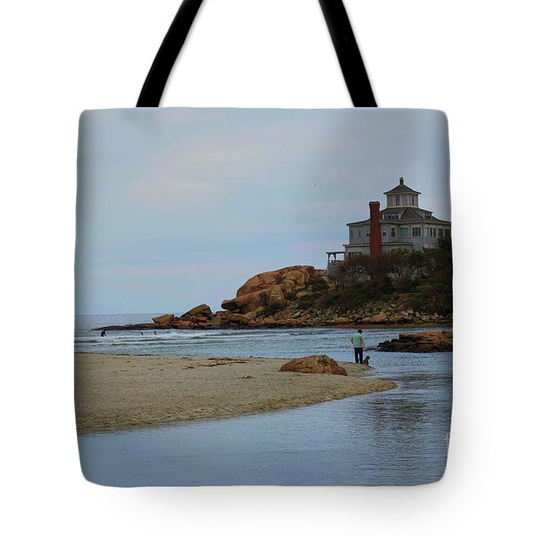 Dogs And Surf Tote Bag