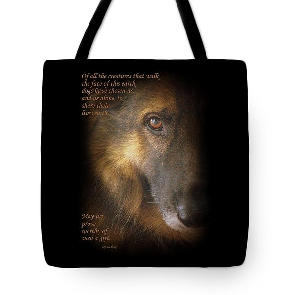 Dogs Chose Us Tote Bag