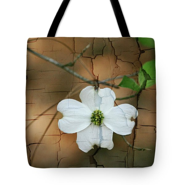 Dogwood Bloom Tote Bag by Cathy Harper