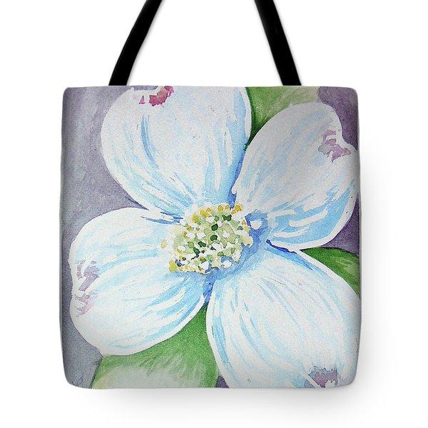 Dogwood Bloom Tote Bag by Loretta Nash