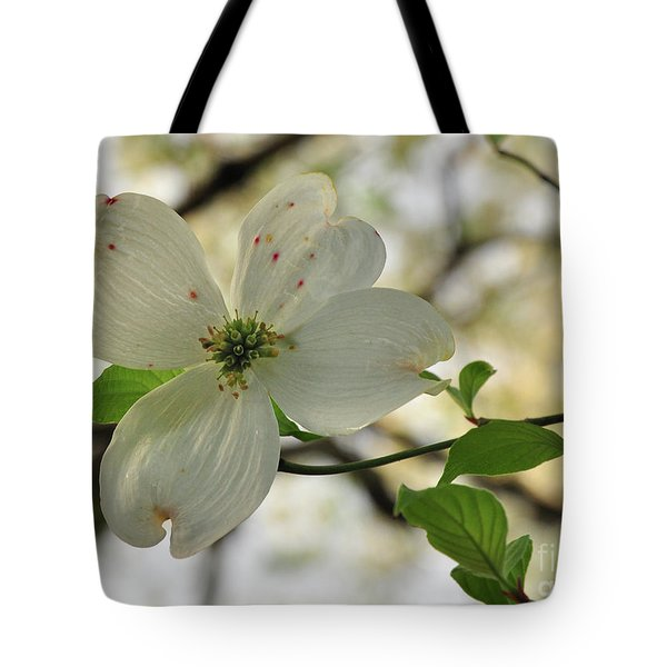 Dogwood Bloom Tote Bag