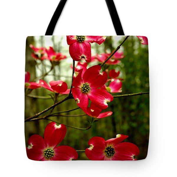 Dogwood Blooms In The Spring Tote Bag