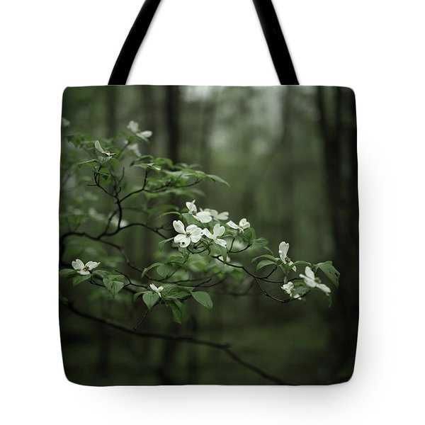 Tote Bag featuring the photograph Dogwood Branch by Shane Holsclaw