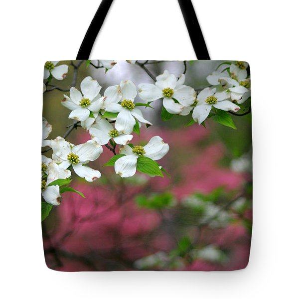Dogwood Days Tote Bag by Living Color Photography Lorraine Lynch