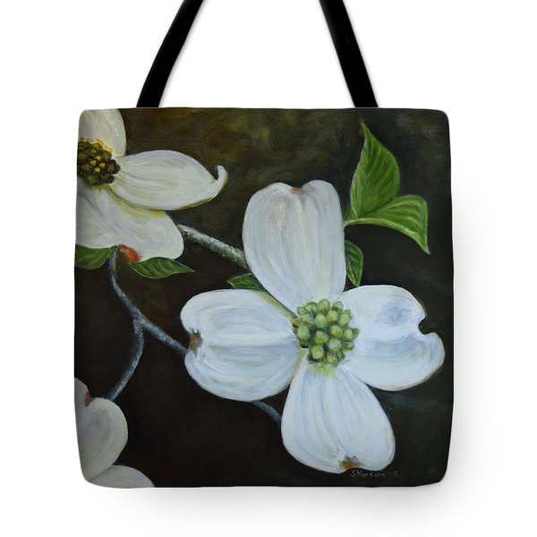 Dogwood Dream Tote Bag