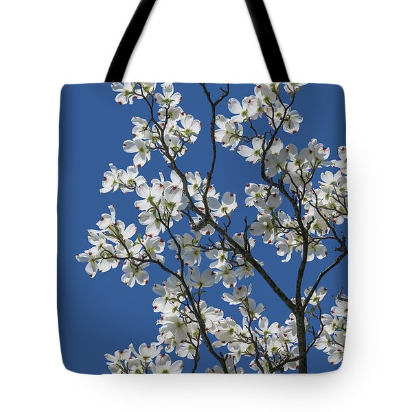 Dogwood Tree In Spring Tote Bag