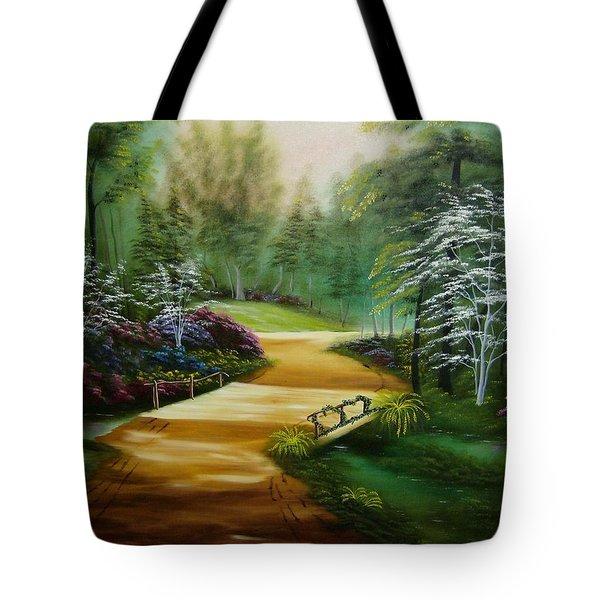 Dogwoods In Springtime Tote Bag