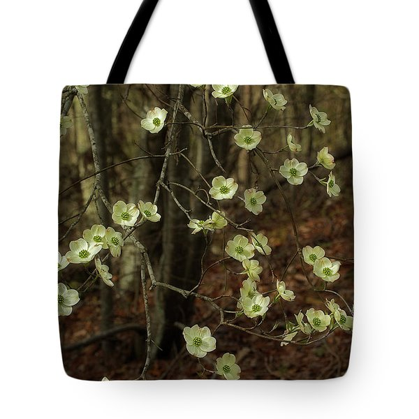 Tote Bag featuring the photograph Dogwoods In The Spring by Mike Eingle