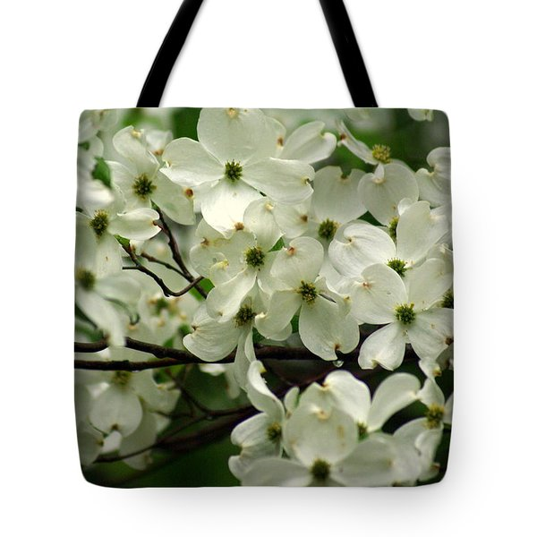 Dogwoods Tote Bag by Marty Koch