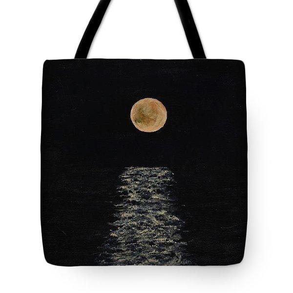 Doha Moonrise Tote Bag