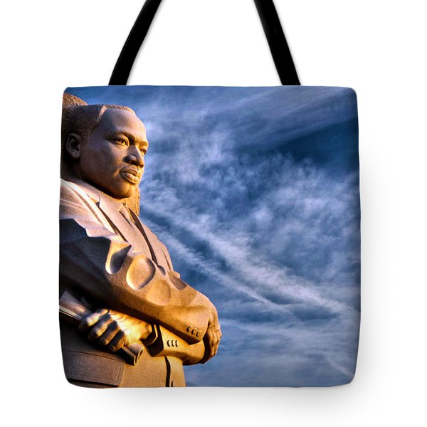 Doing For Others Tote Bag by Mitch Cat
