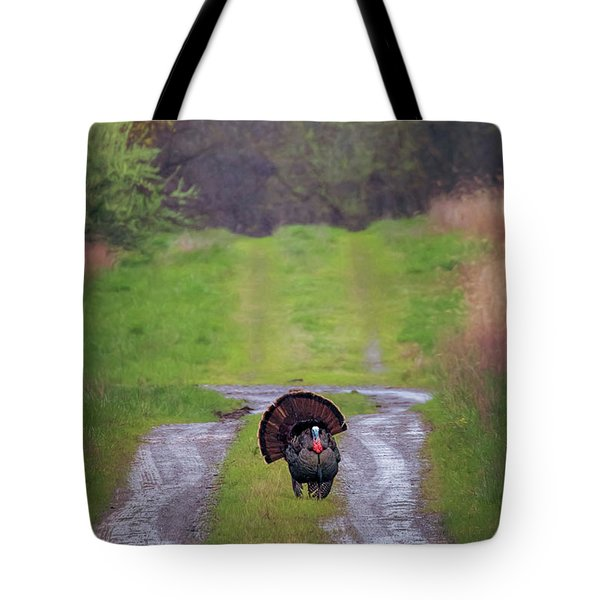 Doing The Turkey Strut Tote Bag