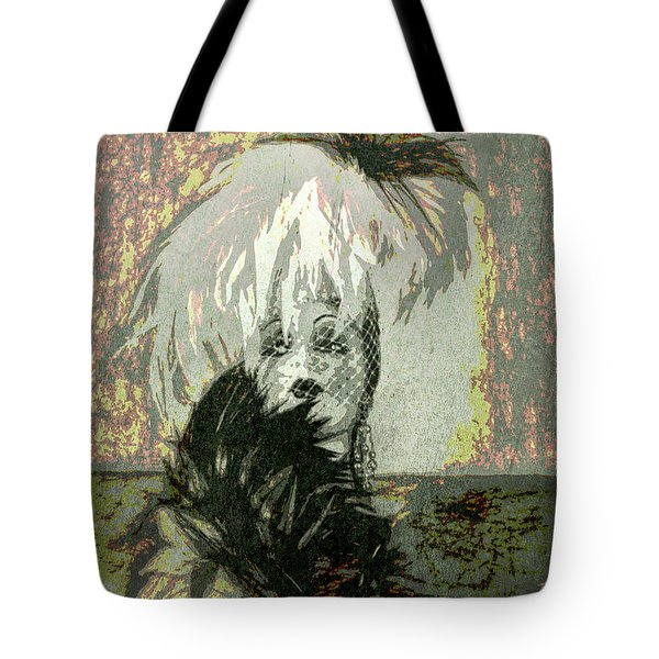 Doll Face  ... Tote Bag by Chuck Caramella