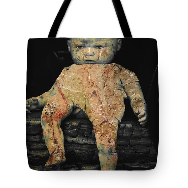 Doll R Tote Bag