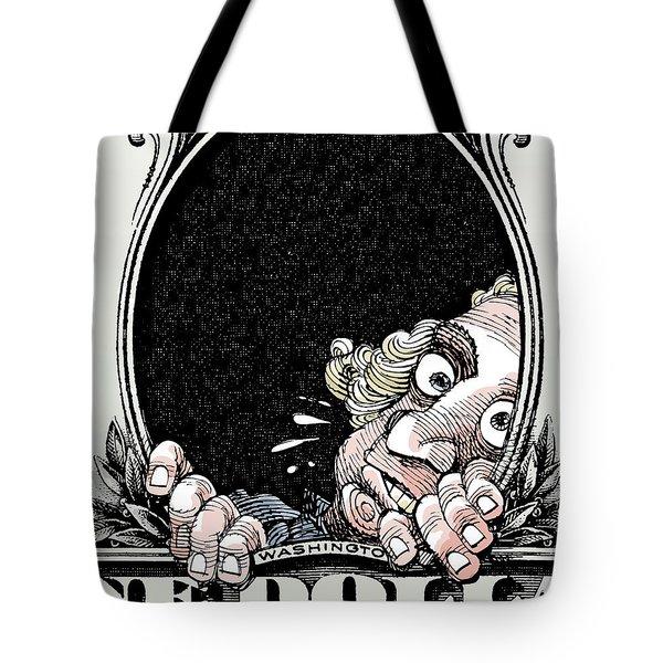 Dollar Fear Tote Bag
