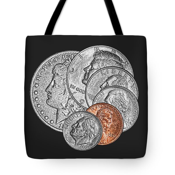 Dollar Ninety One Tote Bag by Tom Mc Nemar