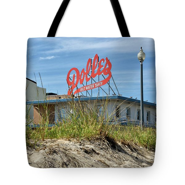 Tote Bag featuring the photograph Dolles Candyland - Rehoboth Beach Delaware by Brendan Reals