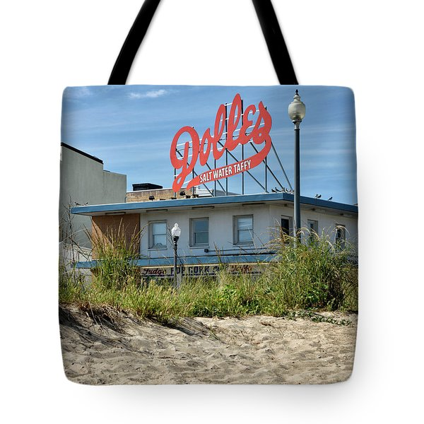 Tote Bag featuring the photograph Dolles From The Beach - Rehoboth Beach Delaware by Brendan Reals
