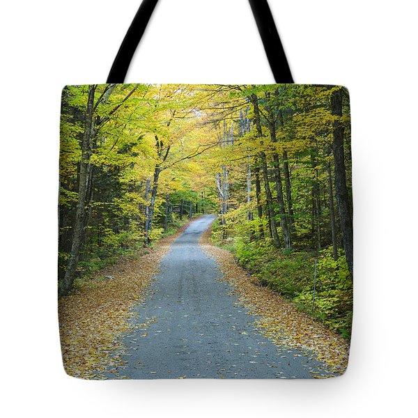 Dolly Copp Road - Randolph New Hampshire Tote Bag