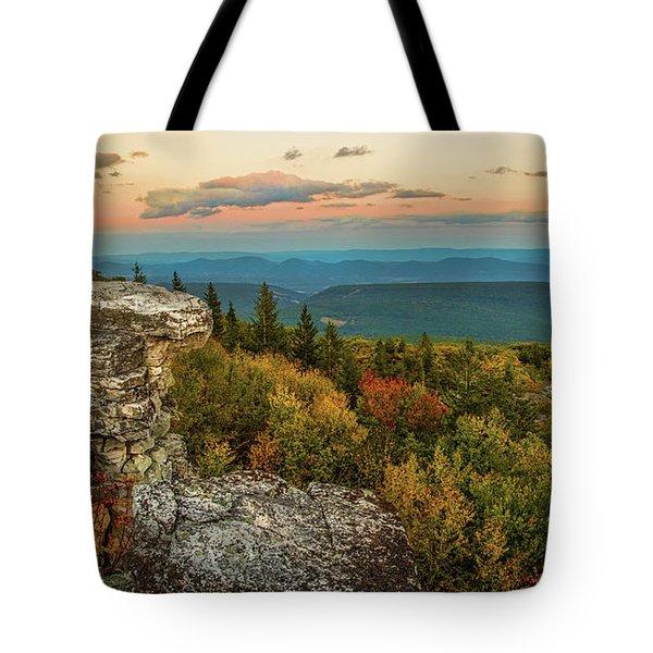 Dolly Sods Autumn Sundown Tote Bag