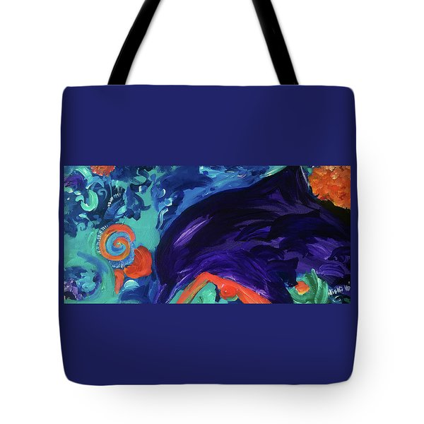 Dolphin Dreams Tote Bag