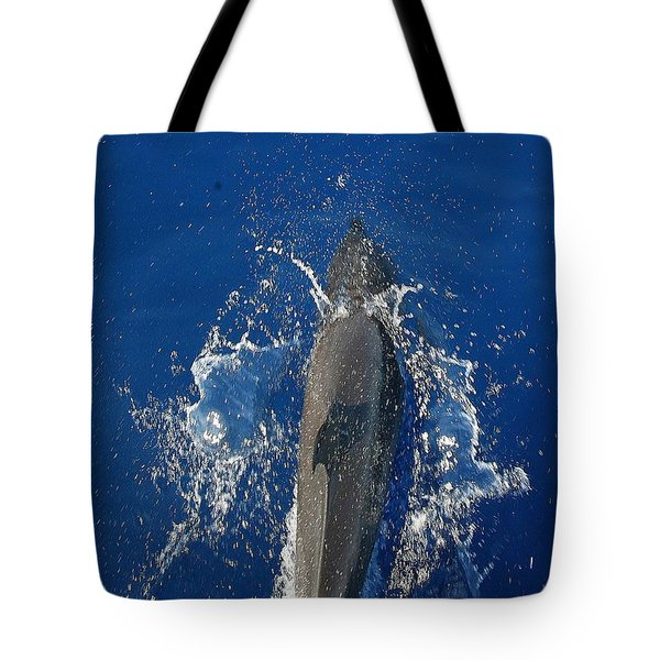 Tote Bag featuring the photograph Dolphin by J R Seymour