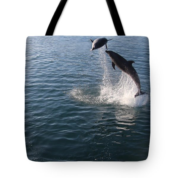 Dolphin Watch Tote Bag
