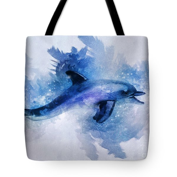 Dolphins Freedom Tote Bag