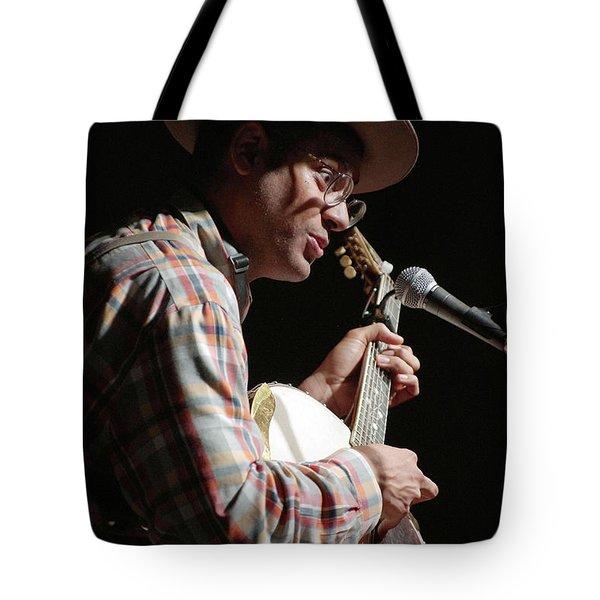 Dom Flemons Tote Bag