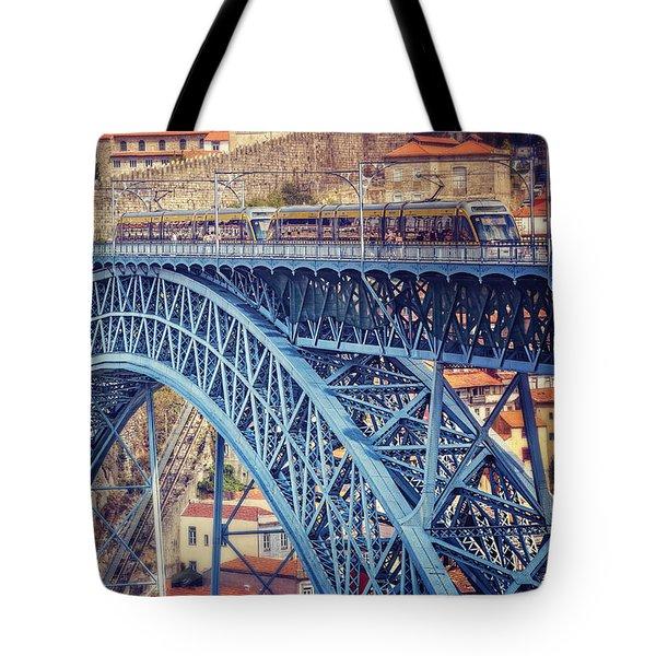 Dom Luis Bridge Porto  Tote Bag