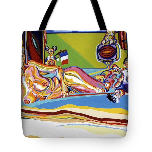 Domaine De Dominique Tote Bag by Robert SORENSEN