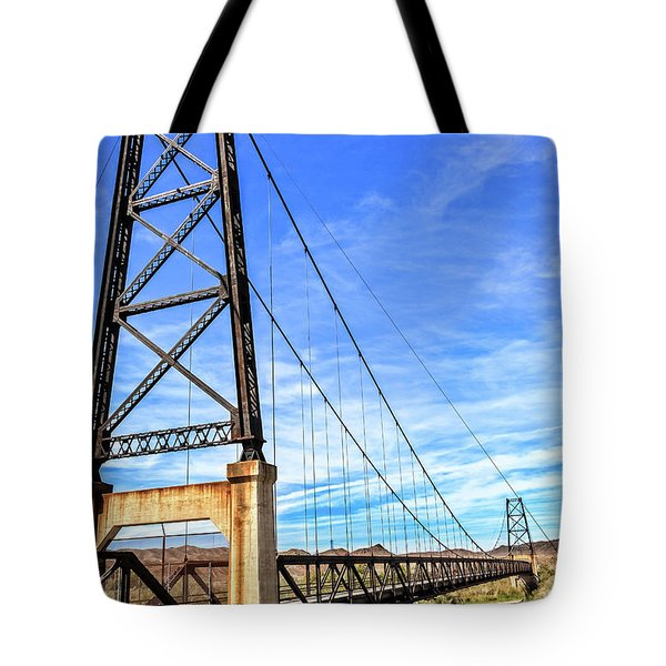 Tote Bag featuring the photograph Dome Bridge by Robert Bales