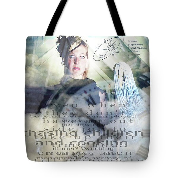 Domestic Considerations Tote Bag